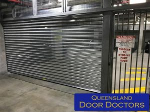 Commercial Garage Door Installation - New Main Entry
