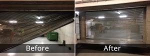 Garage Door Before/After 1