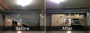 Garage Door Before/After 2